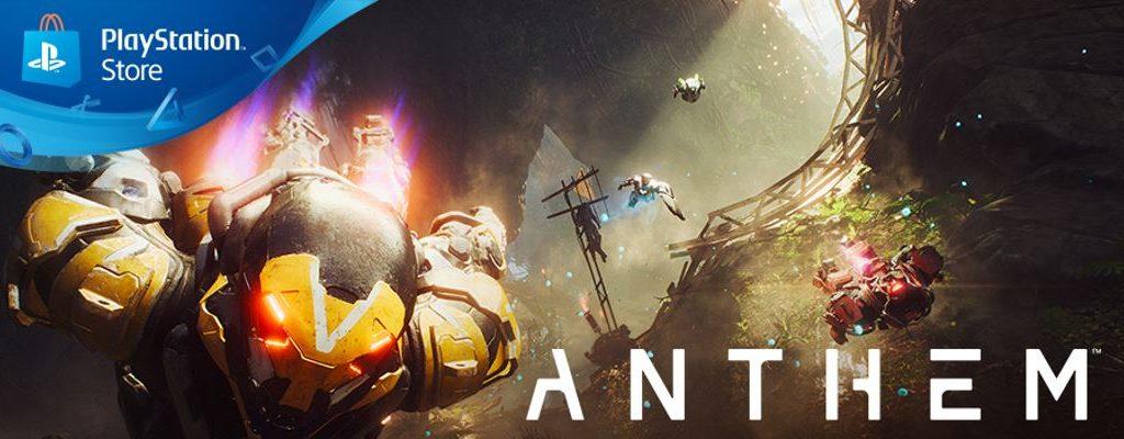 Alles zum PS4-Release von Anthem: Preload, Start-Zeit, erste Tests