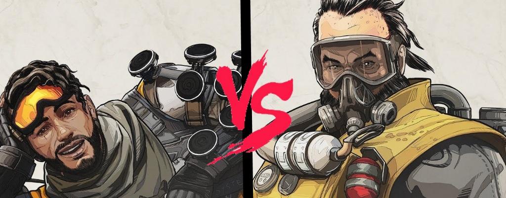 Apex Legends: Mirage vs Caustic – Welchen Helden zuerst kaufen?