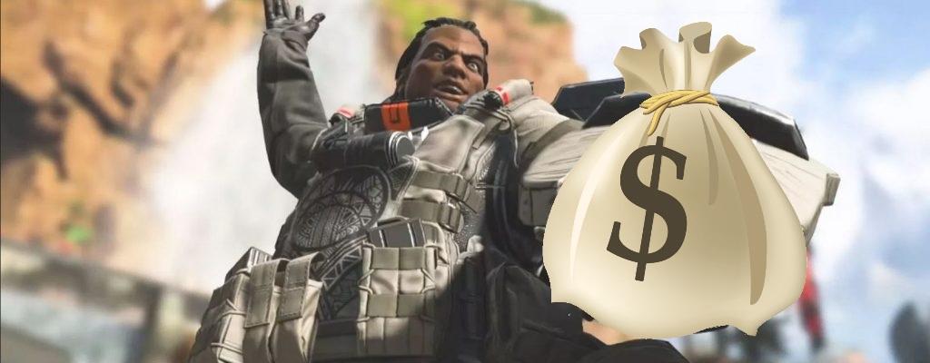 Apex Legends: Spieler hat plötzlich 1 Million $ Spielgeld – Weiß nicht, woher