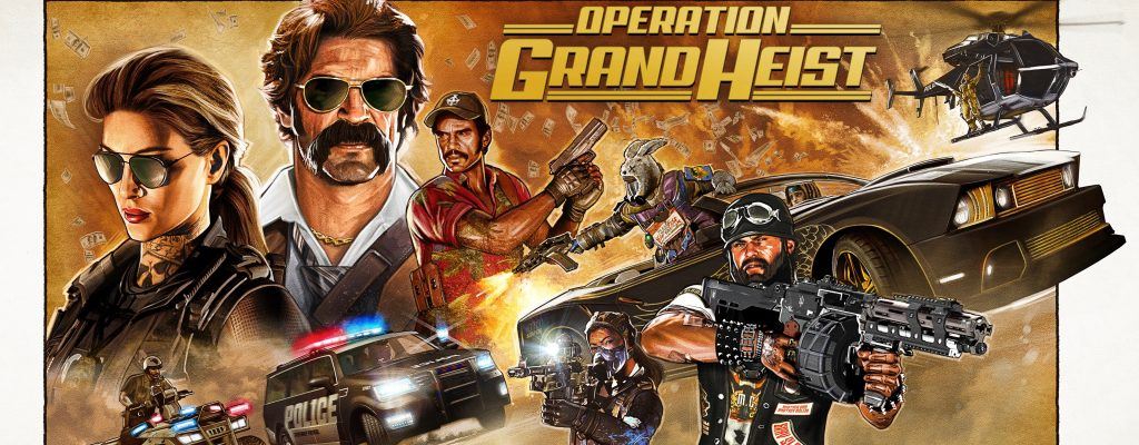 Black Ops 4 Grand Heist