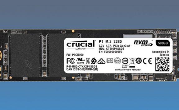 Crucial P1 SSD im Angebot bei Saturn