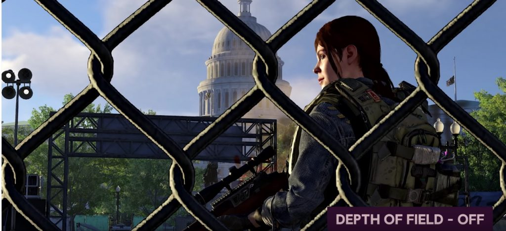 Division 2 depth of field
