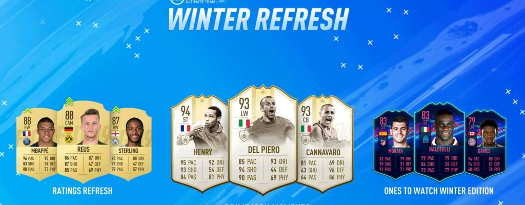 FIFA 19 Winter-Refresh: Alle Winter-Upgrades, Winter-OTW, SIB-Spieler