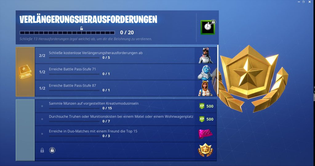 this is the first part of the resuscitation requests - fortnite season 3 battle pass herausforderung