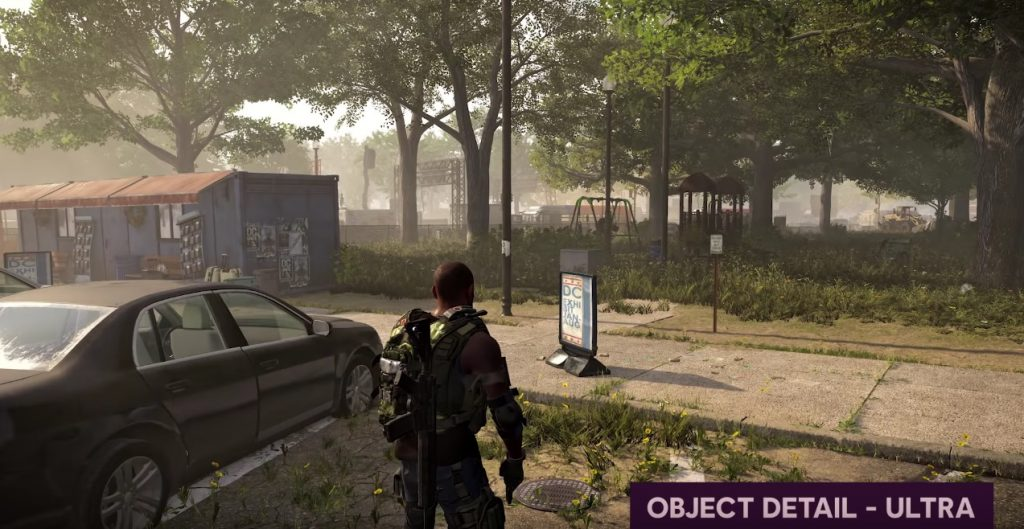 Division 2 objektdetails ultra