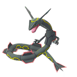 Shiny Rayquaza Pokemon GO