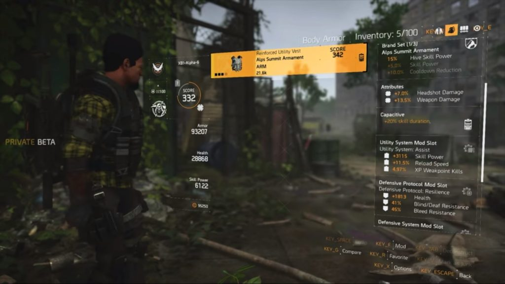 the division 2 gear mods