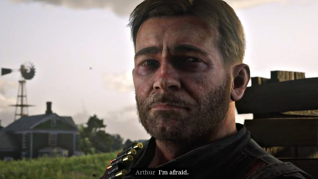 Red DEad Online Arthur Afraid