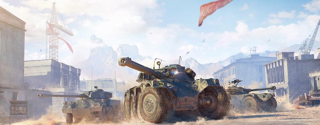 So spielen sich die neuen, blitzschnellen Radpanzer in World of Tanks