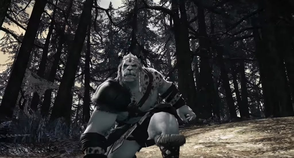 final fantasy xiv shadowbringers hrothgar trailer