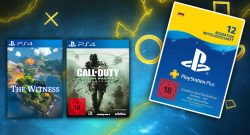 12 Monate PlayStation Plus im Angebot bei Saturn