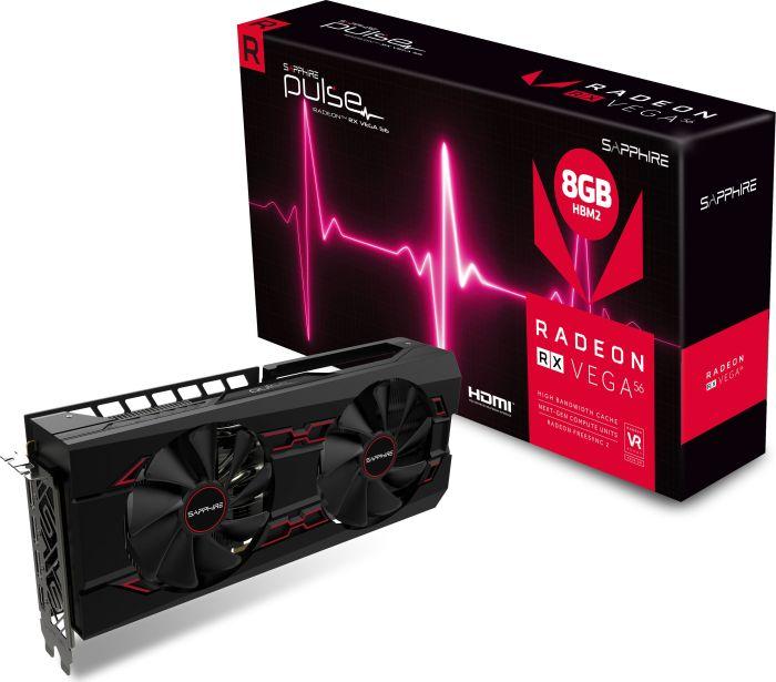 Gaming-Grafikkarte Sapphire Pulse Radeon RX Vega 56