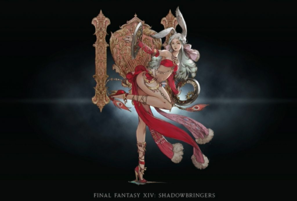 final fantasy xiv shadowbringers tänzer contept art