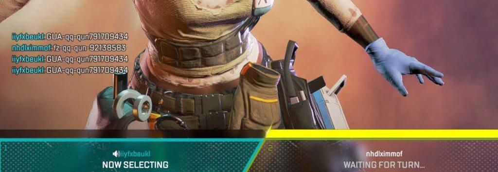Apex Legends Bots bewerben ihre Hacks im Spiel