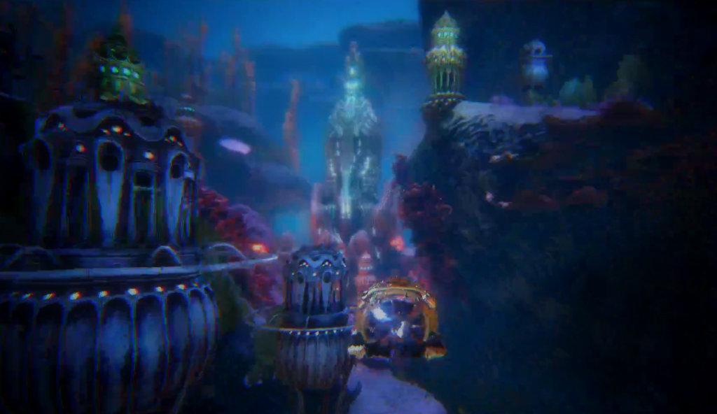 Unterwasser-Welt in Atlas