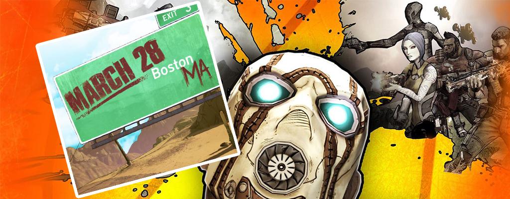 Entweder wird Borderlands 3 am 28.3. vorgestellt oder Gearbox trollt wieder