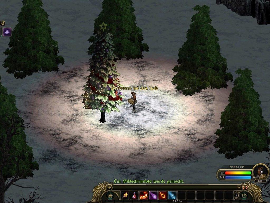 Die 4te Offenbarung Gameplay Screenshot kalte Umgebung