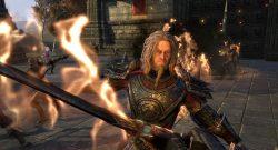 Kampfszene aus The Elder Scrolls Online: Morrowind