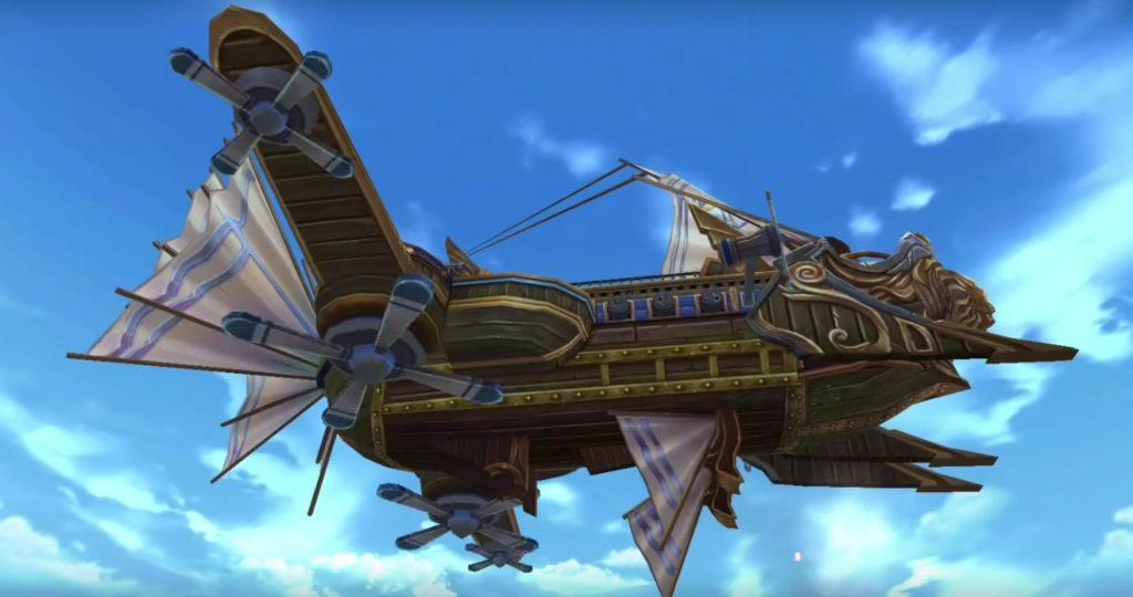 Era of Legends Luftschiff