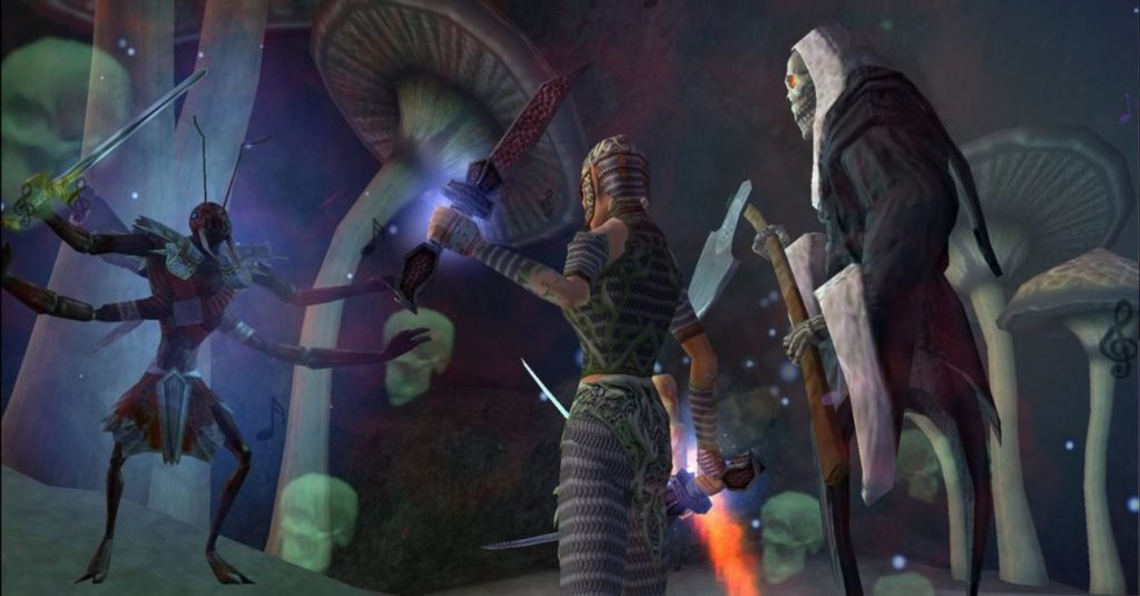 Everquest Kampf Screenshot
