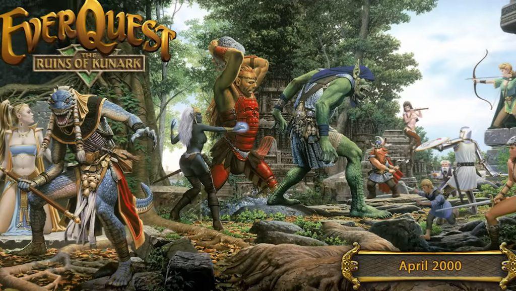 Erste Everquest-Erweiterung Ruins of Kunark im April 2000