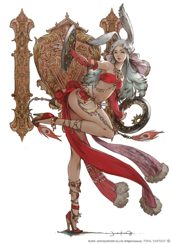 final fantasy xiv tänzer artwork