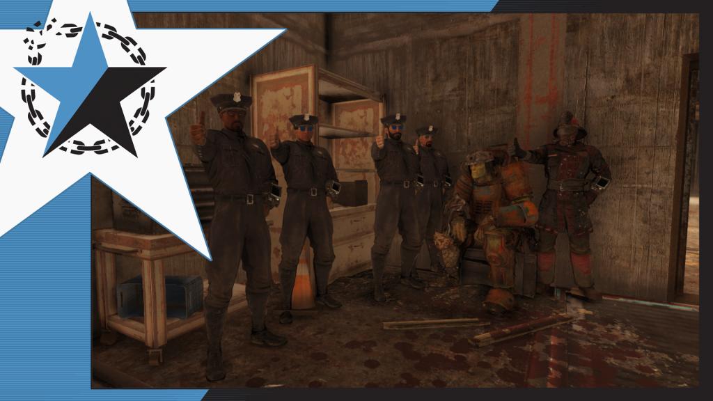 Fallout 76 Appalachia PD Spieler verkörpern Polizisten