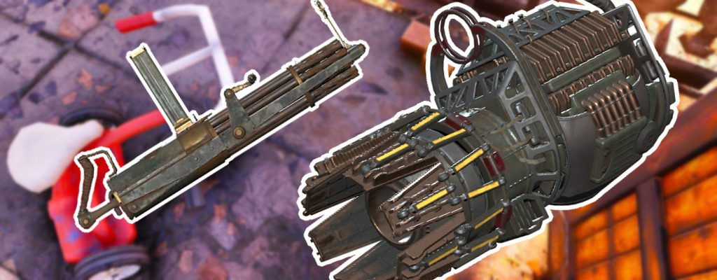 Fallout 76 Gatling Plasma und Gatling schwere Waffen kriegen einen Buff Titel