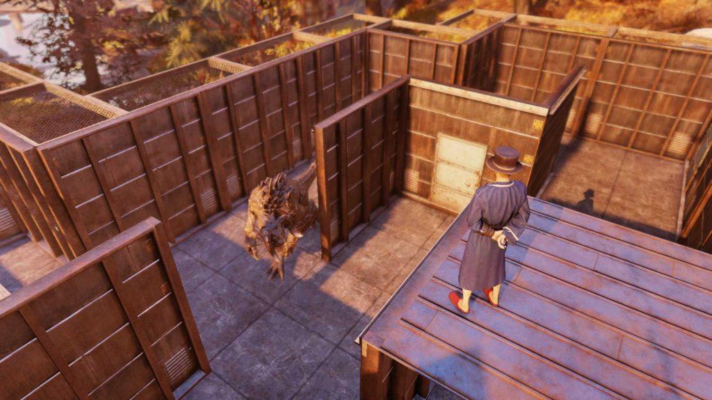 Fallout 76 Todeskrallen Labyrinth