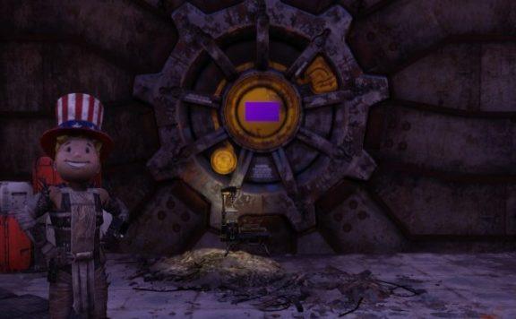 Fallout 76 Vault Purple