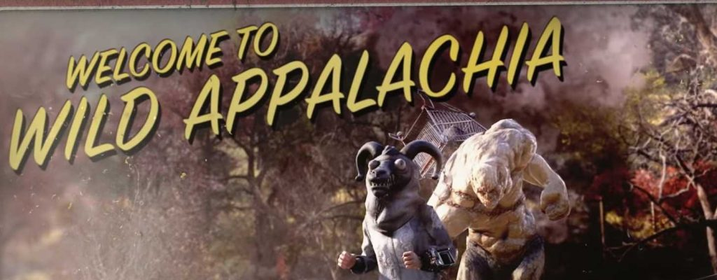 Fallout 76 welcome to wild appalachia titel