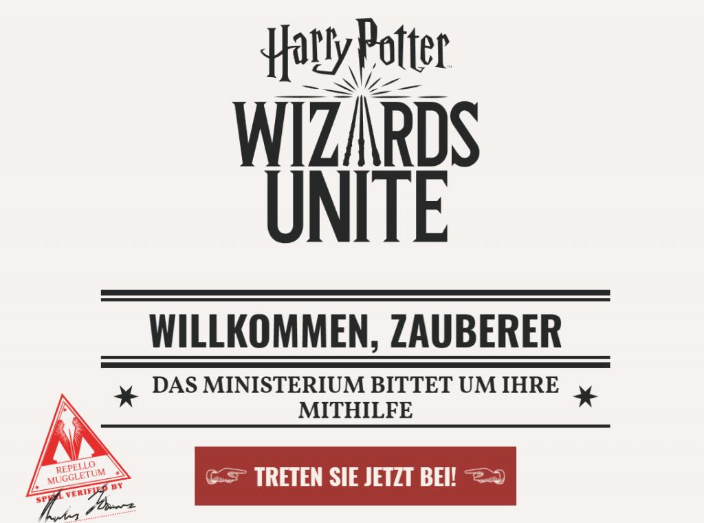 Wizards Unite bittet Mitthilfe
