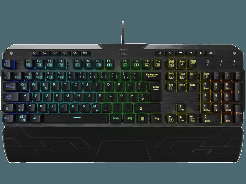 Lioncast LK300 RGB Gaming-Tastatur