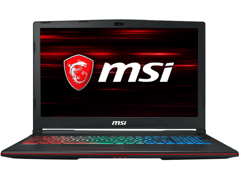 MSI GP63 8RE-223DE Gaming-Notebook