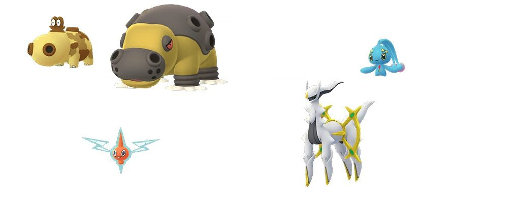 Neue Sprites Pokemon GO