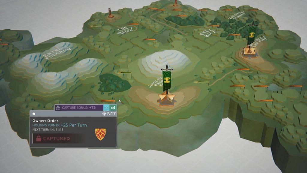 Dynamische Karten im MMORPG Crowfall.