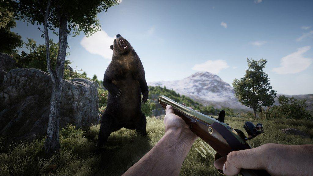 Outlaws of the Wild West Screenshot Bär