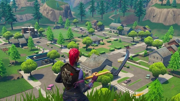 Pleasant Park Fortnite