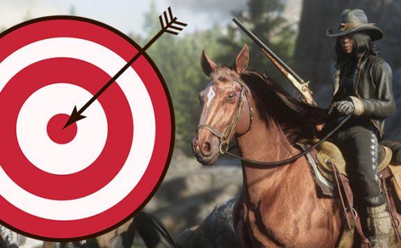 Red Dead Online Pferd Zielscheibe