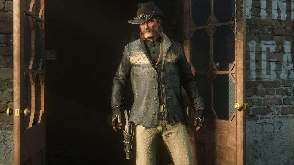 Tasmane Outfit Red Dead Online