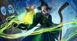 RuneScape-Old-School Titel mit Magier