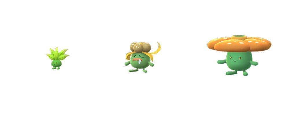 Shiny Myrapla Pokemon GO