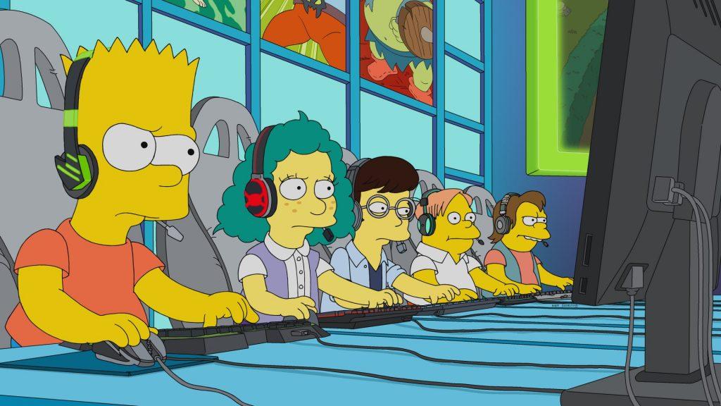 Simpsons eSport Folge Bart am Zocken