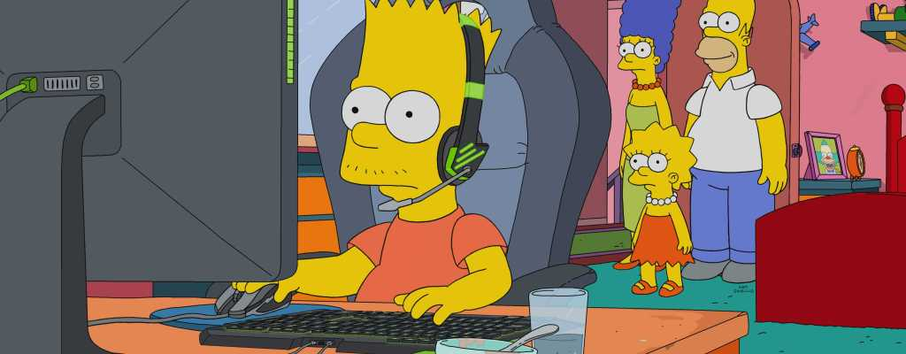 Die Simpsons arbeiteten mit den LoL-Entwicklern an einer E-Sports-Folge