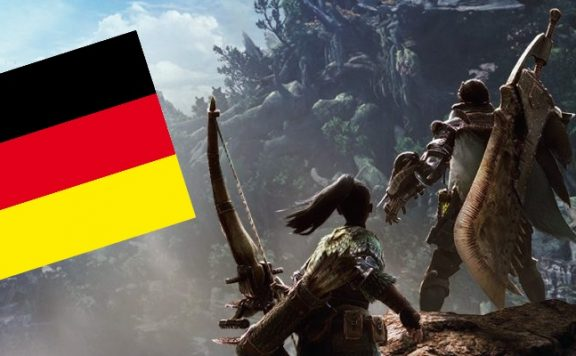Titelbild Monster Hunter World Deutschland