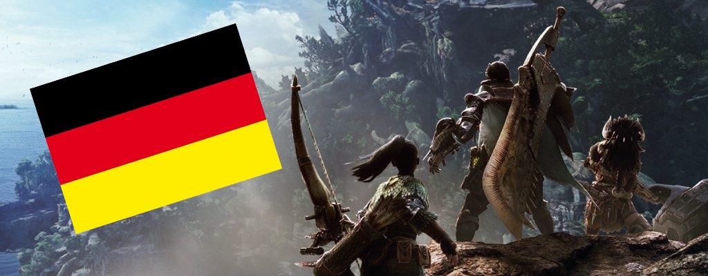 Deutsche liebten offenbar Monster Hunter World auf dem PC