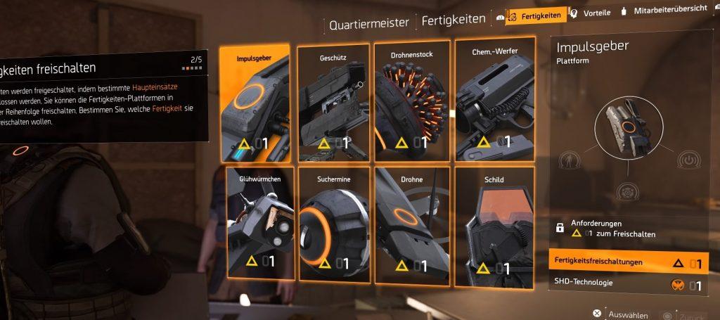the division 2 skill