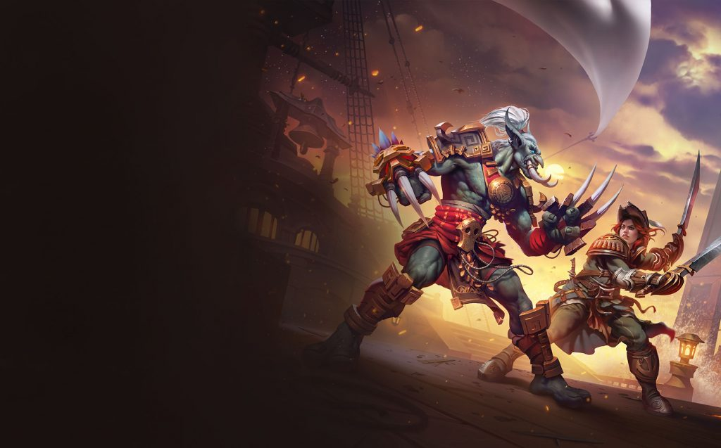 World of Warcraft Kul Tiraner und Zandalari Hintergrund