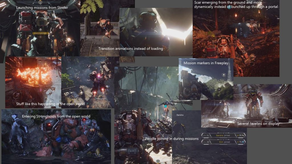 Anthem Trailer Features Reddit
