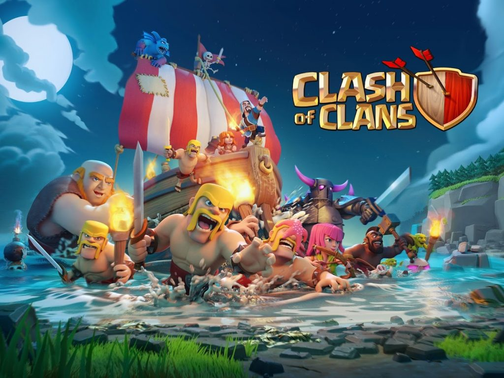 clash of clans titel